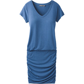 Prana Foundation Dress Women Sunbleached Blue Heather